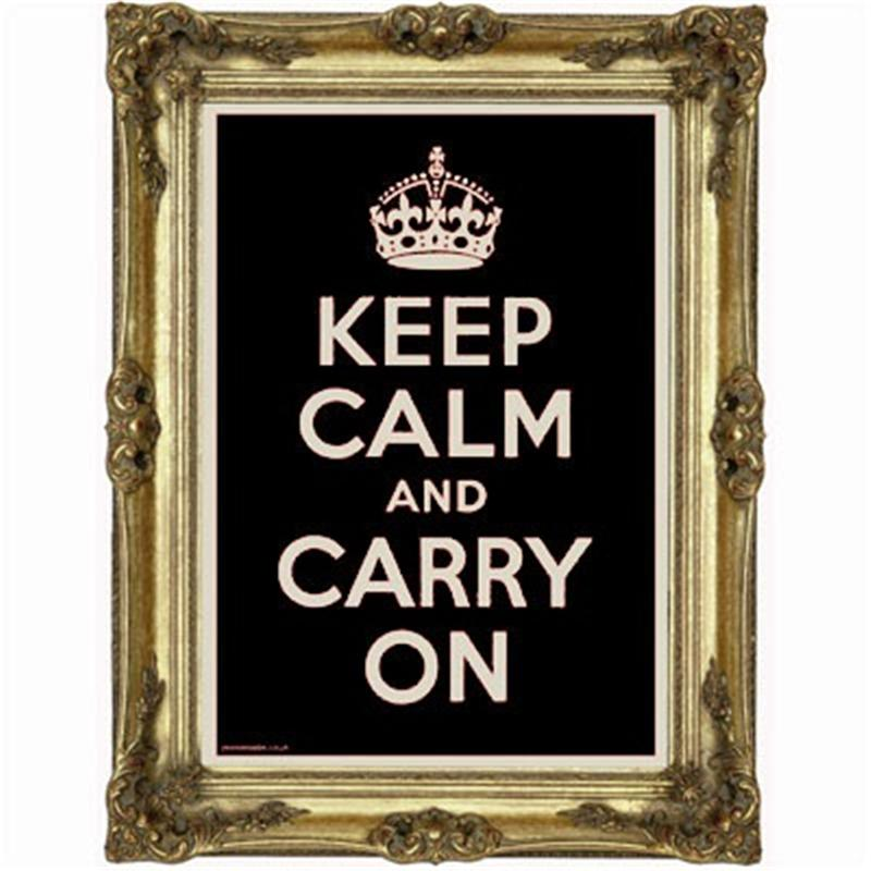 Yes-No-Maybe-Keep-Calm-and-Carry-On-Poster-Gold-on-Black-back-800x800
